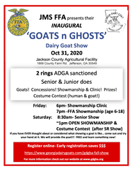 2020 Goats n Ghosts Dairy Goat Show