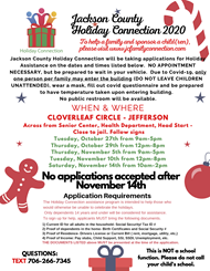 Holiday Connection Flyer 2020