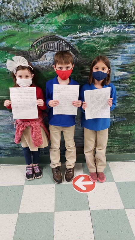 Congratulations to our Young GA Authors' Writing Contest representatives!