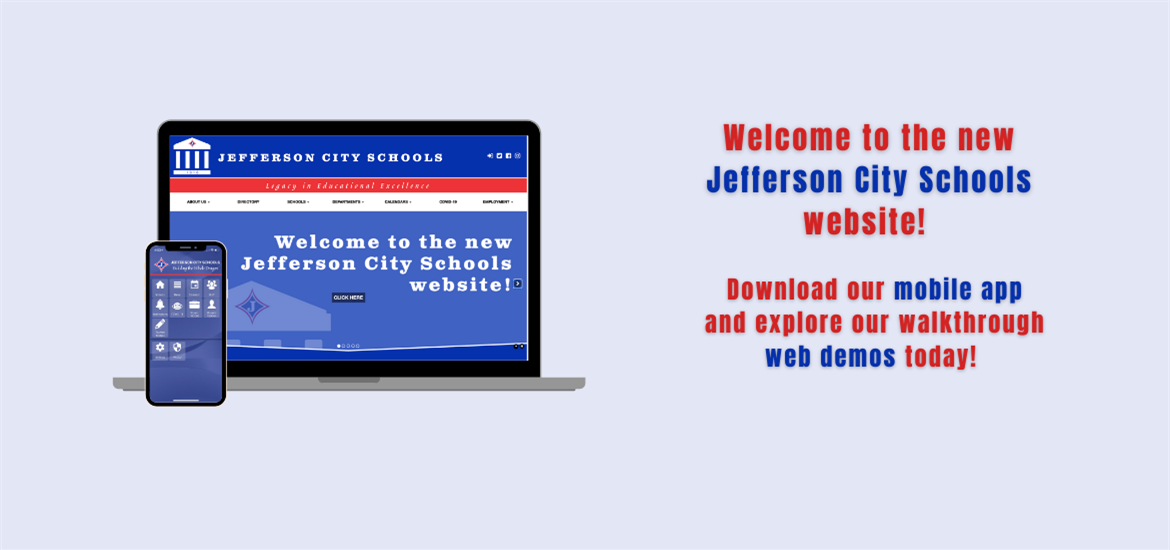 Welcome to the new JCS website! Download our app today!